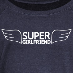 Super Girlfriend Long Sleeve Shirts