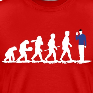 Evolution Spock! - Men's Premium T-Shirt