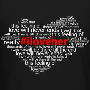 #iloveher Long Sleeve Shirts - Crewneck Sweatshirt