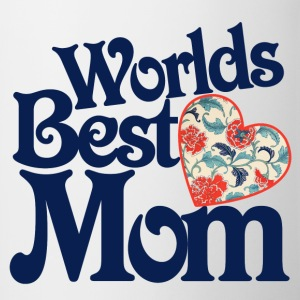 Worlds Best Mom - Contrast Coffee Mug