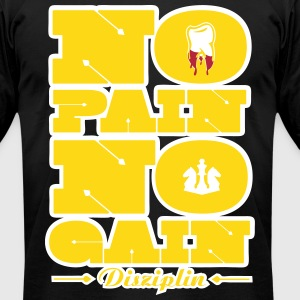 No Pain No Gain 6 T-Shirts - Men's T-Shirt by American Apparel