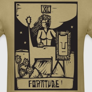 Tarot Cards - Fortitude T-Shirts - Men's T-Shirt