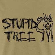 Design ~ Stupid Tree Disc Golf Shirt - Black Print - Standar Shirt