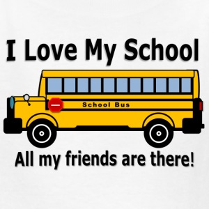 School Bus - Kids' T-Shirt