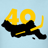 Design ~ Rask SUPERSTAR #40 Bruins Shirt