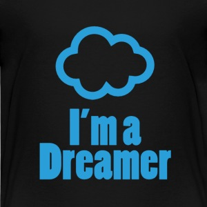 I'm a Dreamer for kids (Black) - Kids' Premium T-Shirt