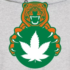 Weed Tiger Hoodies