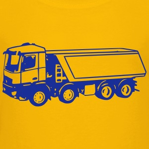 dump truck 2 (1 color) Baby & Toddler Shirts - Toddler Premium T-Shirt