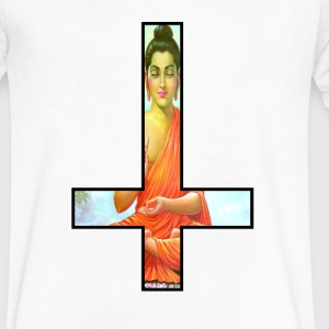 Anti-Cross Hinduism V-Neck - Men's V-Neck T-Shirt by Canvas
