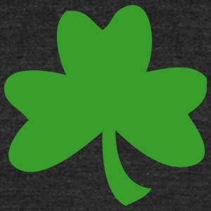 One Shamrock One Color T-Shirts - Unisex Tri-Blend T-Shirt