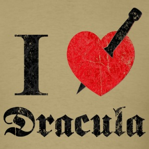 I love (to kill) Dracula (dd print) T-Shirts - Men's T-Shirt