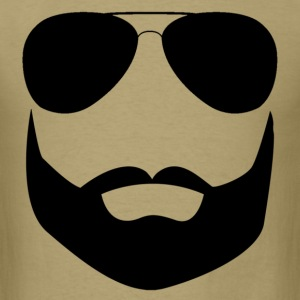beard_sunglasses T-Shirts - Men's T-Shirt