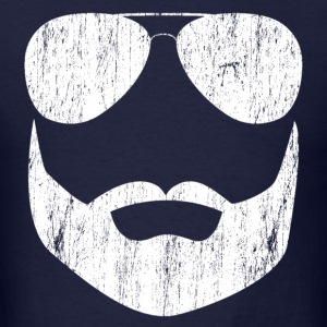 beard_sunglasses_aviator T-Shirts - Men's T-Shirt