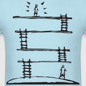 Climbing the Corporate Ladder T-Shirts - Men's T-Shirt