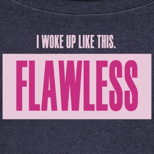 I WOKE UP LIKE THIS Long Sleeve Shirts - Women's Wideneck Sweatshirt
