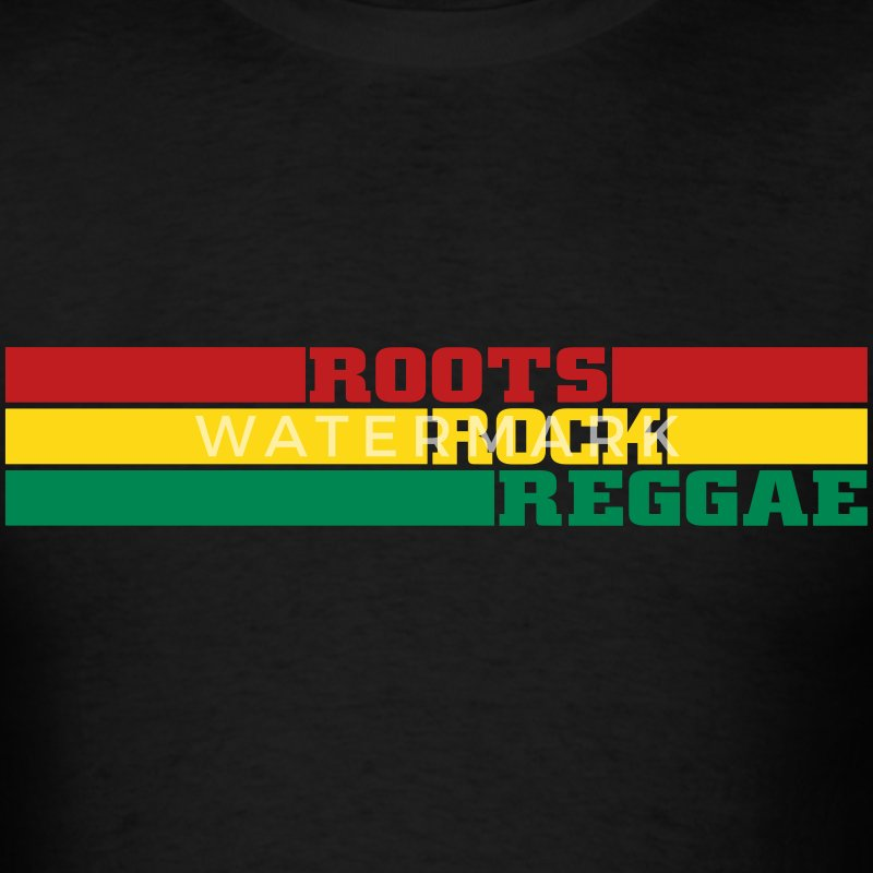 roots rock reggae T-Shirts - Men's T-Shirt