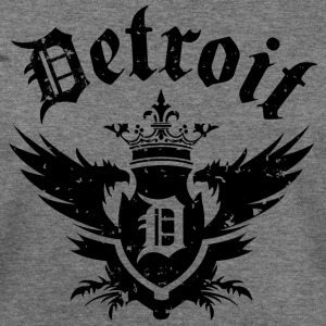 DETROIT ROYALTY Long Sleeve Shirts - Women's Wideneck Sweatshirt