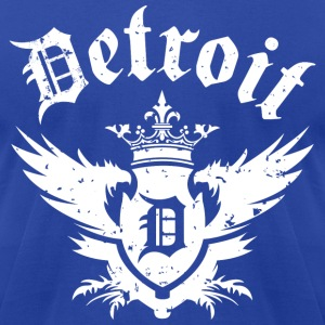 DETROIT ROYALTY T-Shirts - Men's T-Shirt by American Apparel