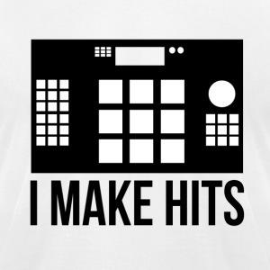 I make Hits T-Shirts - Men's T-Shirt by American Apparel