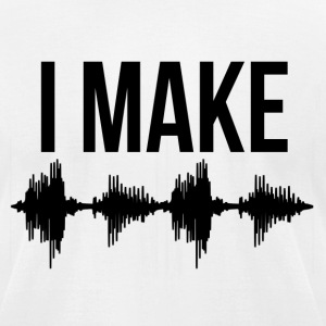I Make Waves T-Shirts - Men's T-Shirt by American Apparel