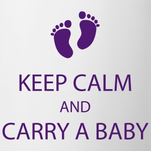 keep calm and carry a baby Bottles & Mugs - Coffee/Tea Mug