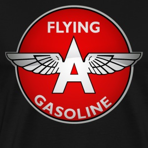 Flying A Gasoline crystal version - Men's Premium T-Shirt