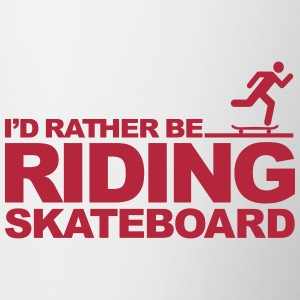 I'd rather be riding skateboard Accessories - Contrast Coffee Mug