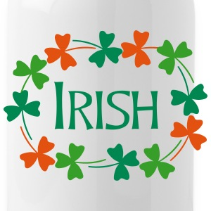 Irish Shamrock Oval Bottles & Mugs - Water Bottle