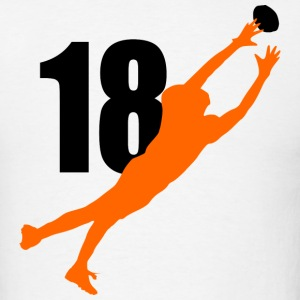 Green SUPERSTAR #18 Bengals Shirt - Men's T-Shirt