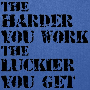 essay the harder i work the luckier i get