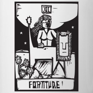 Tarot Cards - Fortitude Accessories - Contrast Coffee Mug
