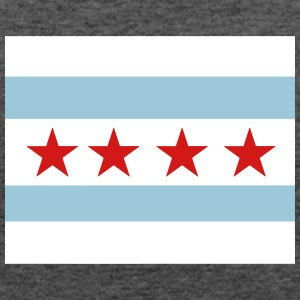 The Chicago Flag Tanks - Women's Flowy Tank Top by Bella