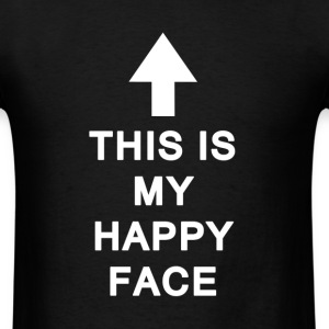 Happy Face - Men's T-Shirt