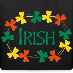 Irish Shamrock Oval Bags & backpacks - Eco-Friendly Cotton Tote