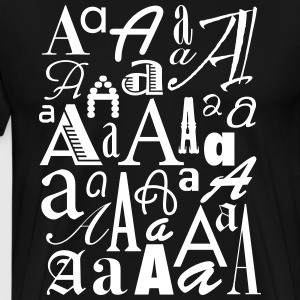 The Letter A Shirt - Men's Premium T-Shirt