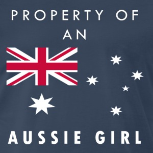 Property of an Aussie Girl!  - Men's Premium T-Shirt