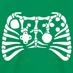 X-Box Controller Fossil skeleton Shirt