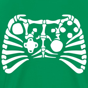 X-Box Controller Fossil skeleton Shirt - Men's Premium T-Shirt