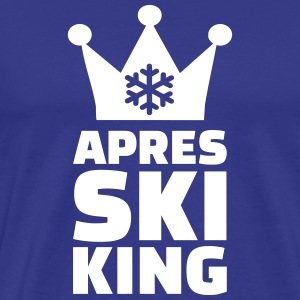 Apres Ski King T-Shirts - Men's Premium T-Shirt