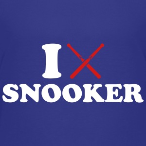 I love Snooker Kids' Shirts - Kids' Premium T-Shirt