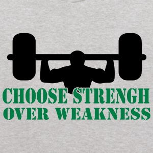 Choose Strength Over Weakness Sweatshirts - Kids' Hoodie