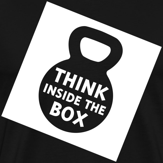 Think Inside the Box Men's Premium Tee