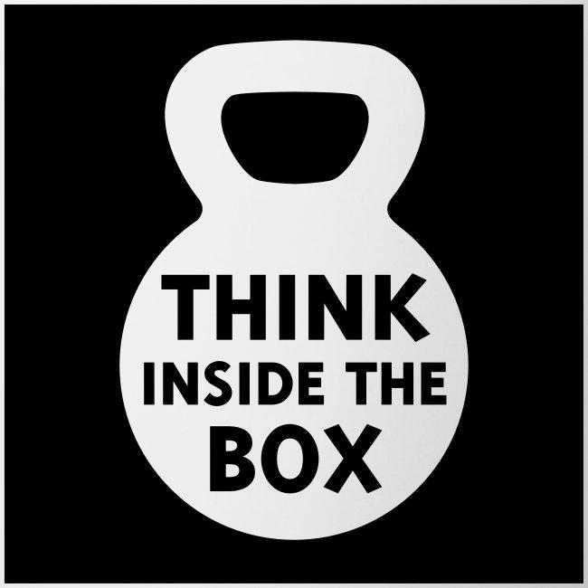 Think Inside the Box Contrast Mug