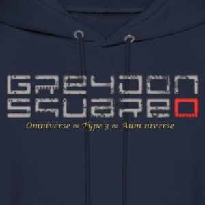 Greydon Square Blue & Gold - Men's Hoodie