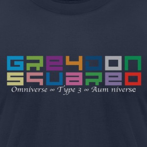 Greydon Square Colorful Tshirt Type 3 - Men's T-Shirt by American Apparel