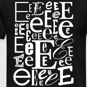 The Letter E Shirt - Men's Premium T-Shirt