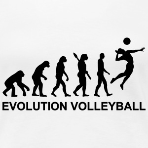 Evolution Volleyball Women's T-Shirts - Women's Premium T-Shirt