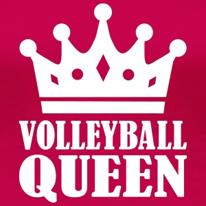Volleyball Queen Women's T-Shirts - Women's Premium T-Shirt