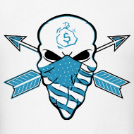 Design ~ American Skull Legend Blue
