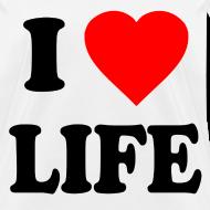 Design ~ I Love Life Pro-Life Anti-Abortion T-Shirt